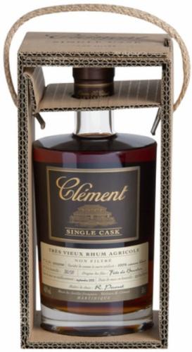 Clément 9yo 2002/2012 Trés Vieux Rhum Agricole (46.8%, OB, Bourbon Cask #20070077, 100% Canne Bleue, 587 bottles, Martinique)