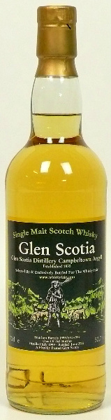 Glen Scotia 6yo 1999/2006 (52.7%, The Whisky Fair, Heavily Peated, Bourbon Barrels #541 & #542, 464 bottles)