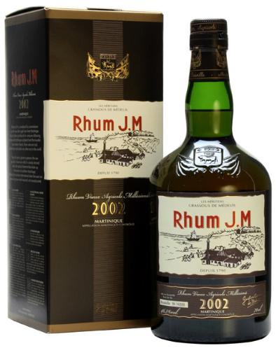 J.M 11yo Vieux Rhum Agricole Millésime 2002 (46.3%, Bourbon Cask Matured, Martinique)