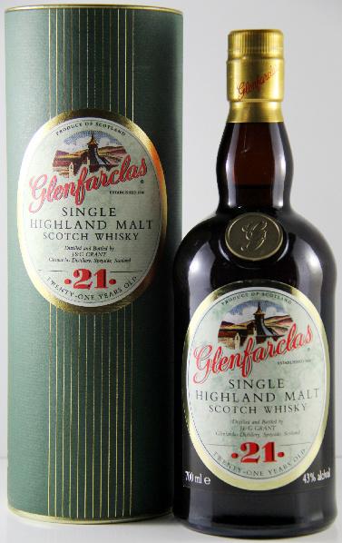Glenfarclas 21yo (43%, OB, Circa 2006)