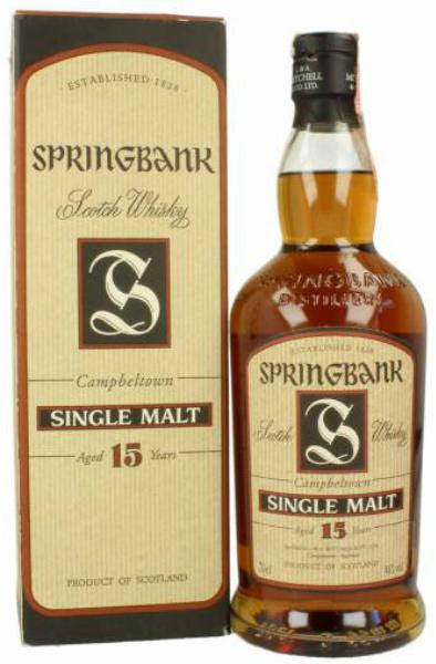 Springbank 15yo (circa 2003)
