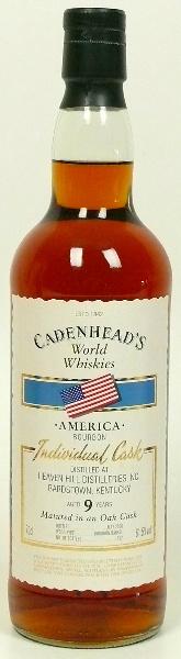 Heaven Hill 9yo (61.5%, Cadenhead, Individual Cask, Bourbon Barrel, 192 bottles, 2006)