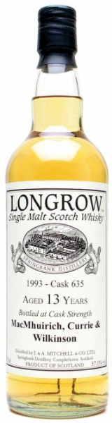 Longrow 1993 Private Bottling Cask #635