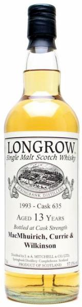 Longrow 1993 Private Bottling Cask #635