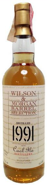 Caol Ila 1991/2000 (46%, Wilson & Morgan, Barrel Selection)