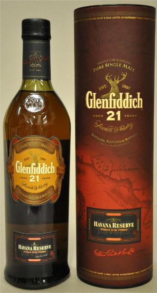 Glenfiddich 21yo Havana Reserve