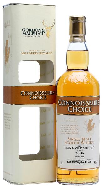 Teaninich 2006/2014 (46%, Gordon & MacPhail, Connoisseurs Choice, First Fill Sherry Hogsheads, ADJFBG)