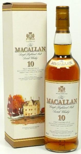 Macallan 10yo (40%, OB, Circa 2003)