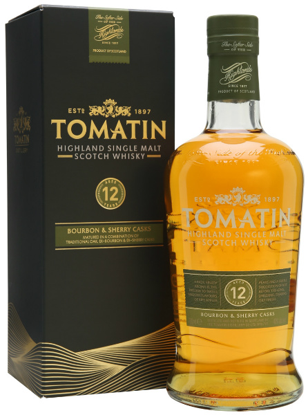 Tomatin 12yo (40%, OB, Bourbon and Sherry Casks)