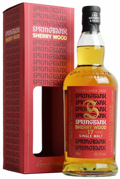 Springbank 17yo Sherry