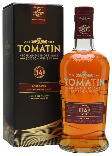Tomatin 14yo Port Casks 2016